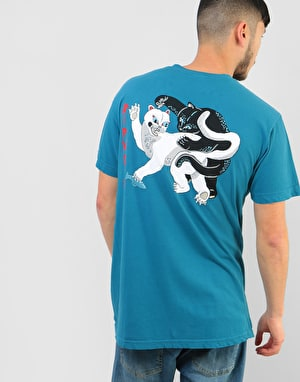 RIPNDIP Brawl T-Shirt - Harbour Blue