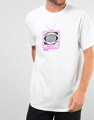 Route One Broadcasting T-Shirt - White