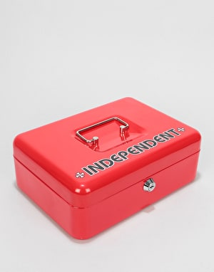 Independent Vault Lock Box - Red