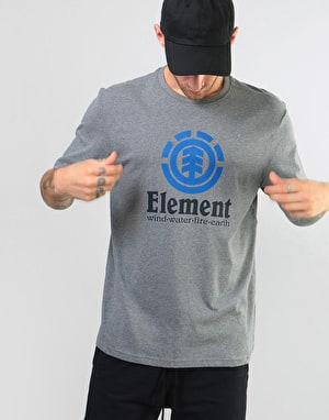Element Vertical T-Shirt - Grey Heather