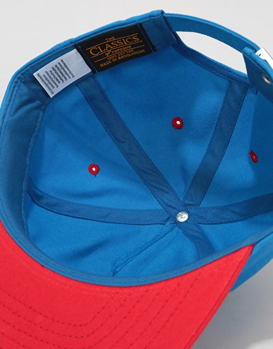 Independent Suspension Sketch Strapback Cap - Royal/Red