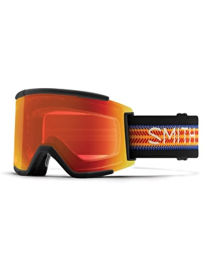 Smith Squad XL 2019 Snowboard Goggles - Louif Paradis/Red Mirror