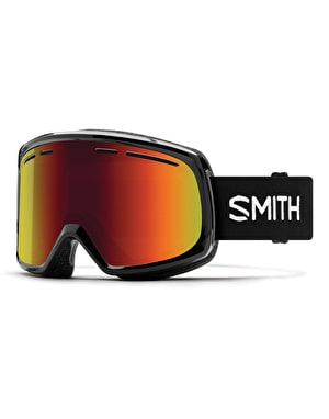 Smith Range 2019 Snowboard Goggles - Black/Red Sol-X Mirror