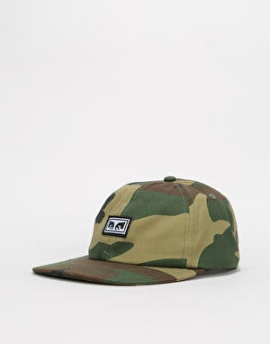 Obey Resist 6 Panel Cap - Field Camo