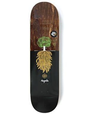 Magenta Day Tree Skateboard Deck - 8