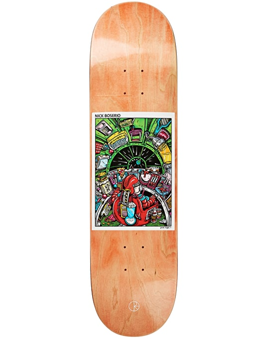 Polar Boserio Earth Attack Skateboard Deck - 8.6""