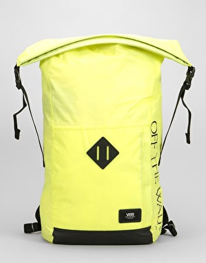 Vans Fend Roll Top Backpack - Sunny Lime