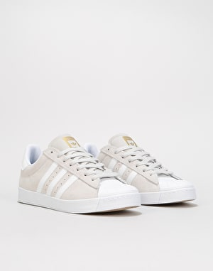 Adidas Superstar Vulc ADV Skate Shoes - Grey/White/Gold Metallic