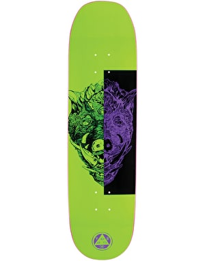 Welcome Hog Wild on Moontrimmer 2.0 Skateboard Deck - 8.5