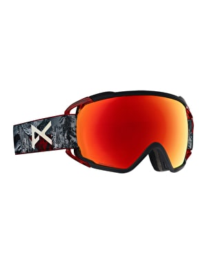 Anon Circuit MFI 2019 Snowboard Goggles - Red Planet/Sonar Red