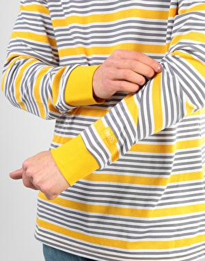 Nike SB Stripe Dri-Fit L/S T-Shirt - Yellow Ochre/Yellow Ochre