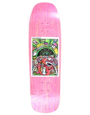 Polar Boserio Earth Attack Skateboard Deck - 1992 Shape 9.25