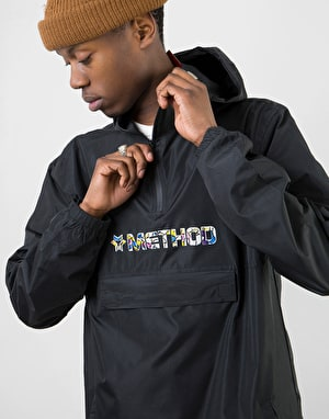 Method x Lucas Beaufort Collab Anorak Jacket - Black