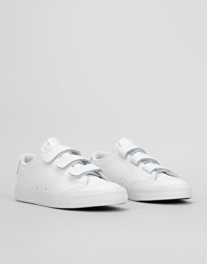Nike SB Zoom Blazer AC XT Skate Shoes - White/White-Black