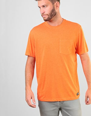 Element Basic Pocket T-Shirt - Hazard Orange Heather