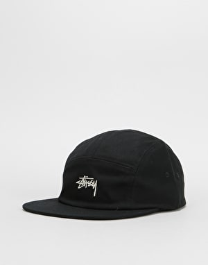 Stüssy Stock Camp Cap - Black