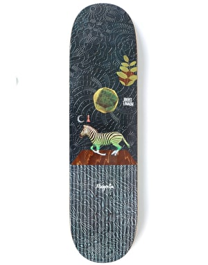 Magenta Lannon Perceptions Skateboard Deck - 8