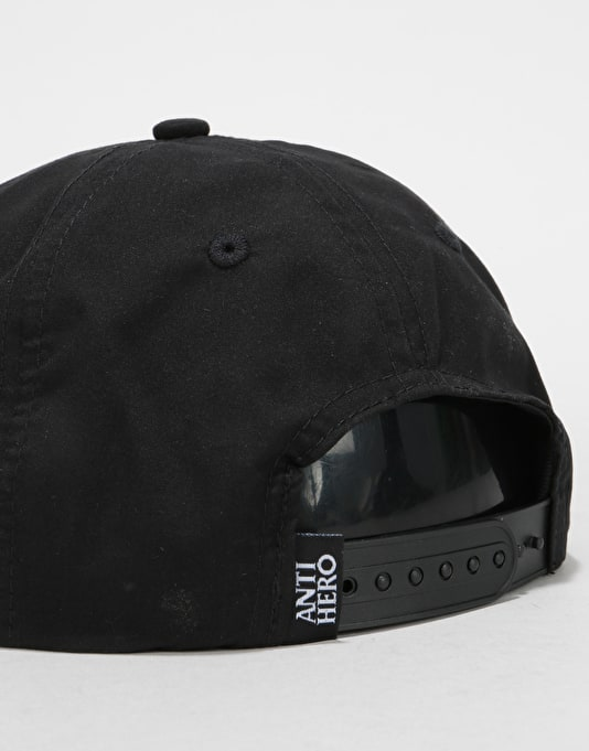 Anti Hero Basic Eagle Snapback Cap - Black/Gold
