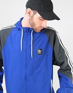 Adidas Insley Jacket - Active Blue/Dgh Solid Grey/White