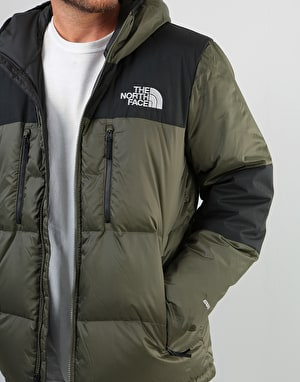 The North Face Himalayan Light Down Hoodie - New Taupe Green/TNF Black