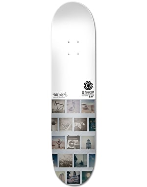 Element x Polaroid Garcia Skateboard Deck - 8.2