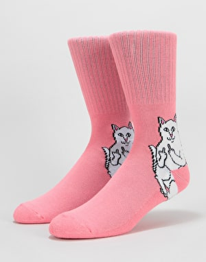 RIPNDIP Lord Nermal Socks - Watermelon