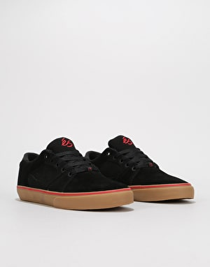 éS Square Three Skate Shoes - Black/Gum