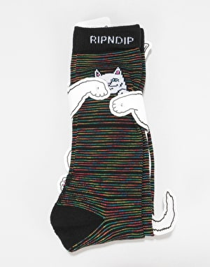 RIPNDIP Peeking Nerm Socks  - Space Yarn Dye