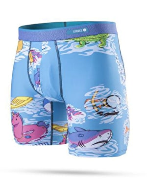 Stance Pool Party Poly Blend Boxer Shorts - Multi