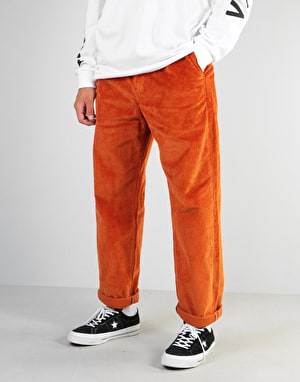 Levi's Skateboarding Pleated Corduroy Trousers - S&E Bombay Brown