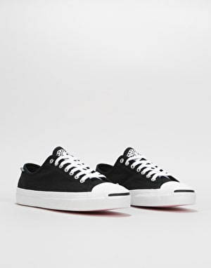 Converse x Illegal Civ Jack Purcell Pro Ox Skate Shoes - Black/Pink