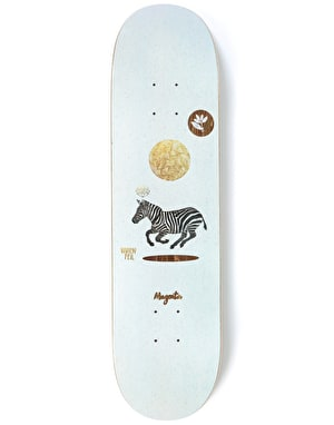 Magenta Feil Perceptions Skateboard Deck - 8
