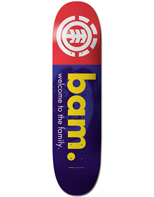 Element Bam Welcome Skateboard Deck - 8.25""