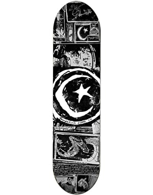 Foundation Star & Moon Zine Skateboard Deck - 8.5