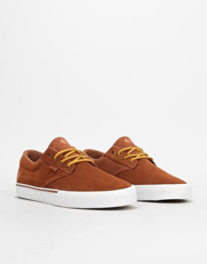 Etnies Jameson Vulc Skate Shoes - Brown/Tan