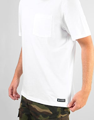 Element Basic Pocket T-Shirt - Optic White