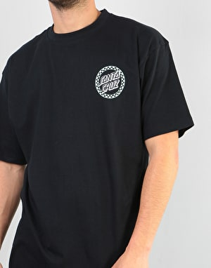Santa Cruz Fast Times Dot T-Shirt - Black