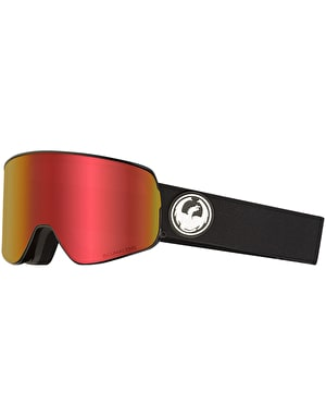 Dragon NFX2 2019 Snowboard Goggles - Black/LUMALENS® Red Ion