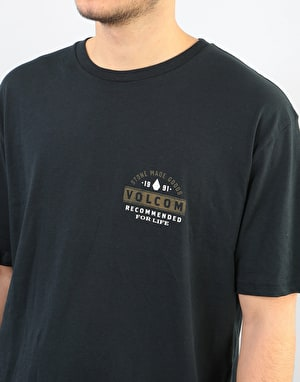 Volcom Barred T-Shirt - Black