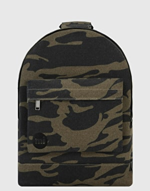 Mi-Pac Canvas Camo Backpack - Khaki