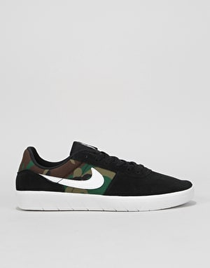 Nike SB Team Classic Skate Shoes - Black/White