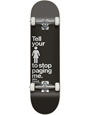 Girl Carroll Paging Me Complete Skateboard - 8