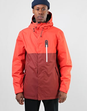 Bonfire Anchor 2018 Snowboard Jacket - Fire