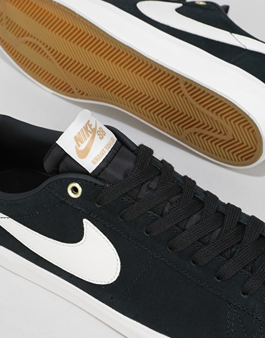 Nike SB GT Blazer Low Skate Shoes - Black/Sail
