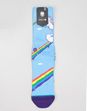 Stance x DLX Spirit Animal Classic Crew Socks - Multi