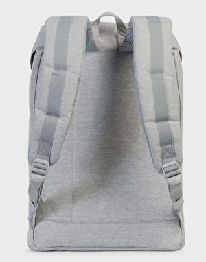 Herschel Supply Co. Retreat Backpack - Light Grey Crosshatch/Grey