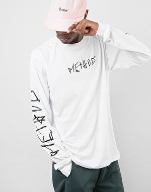 Method x Niels Shack Collab L/S T-Shirt - White