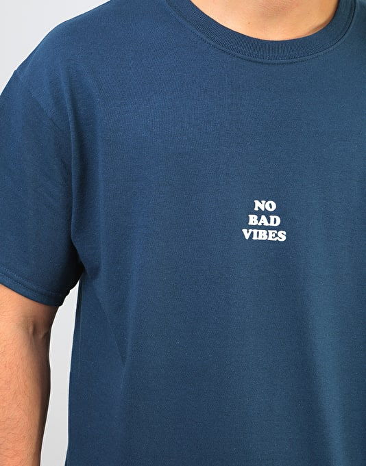 Route One Vibes T-Shirt - Blue Dusk