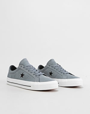 Converse One Star Pro Ox Skate Shoes - Cool Grey/Black/White