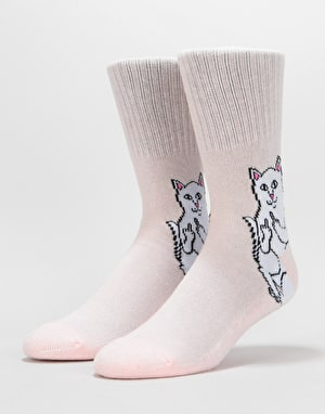 RIPNDIP Lord Nermal Socks  - Pink